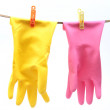 Protective gloves for household — Stock Photo