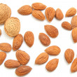 Almonds isolated — Foto de Stock