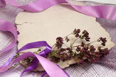 Romantic notes background — Stock Photo
