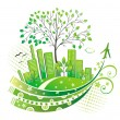 Royalty-Free Stock Vector Image: Green city.