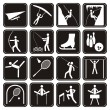 Royalty-Free Stock Vector Image: Sport icons set.