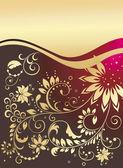 Floral design. — Cтоковый вектор