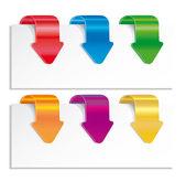 Colorful arrows. — Stock Vector