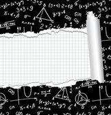 Algebra. Geometry. Abstract background. — Stock Vector