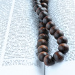 Bible rosary beads — Stock Photo #4746372