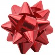 Red gift decoration — Stock Photo