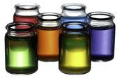 Colorful glasses — Stock Photo