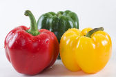 Sweet peppers — Stock Photo