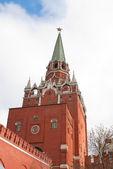 Troitskaya Tower of Moscow Kremlin — Stock Photo