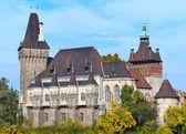 Castillo de vajdahunyad — Foto de Stock
