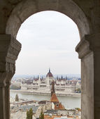 Hungary, Budapest, Parliament — Stock Photo
