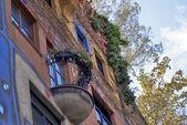 Hundertwasser House — Stock Photo