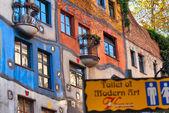 Hundertwasser house — Stock fotografie
