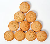 Cookies euro money — Stock Photo