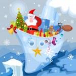 Christmas card — Stock Vector #4368576