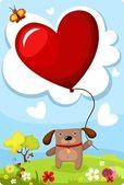 Valentijn kaart — Stockvector