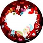 cartão de valentine — Vetorial Stock