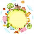 Royalty-Free Stock Obraz wektorowy: Easter card