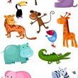 Animal set — Vector de stock #4791827