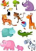 σύνολο των ζώων — Διανυσματικό Αρχείο
