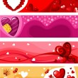 Valentine card — Vector de stock #4810936