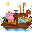 Noah's Ark — Vector de stock