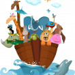 Stock Vector: Noah's Ark