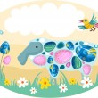 Royalty-Free Stock Vector Image: Easter card