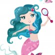 Mermaid — Stock Vector #4975009