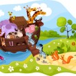 Noah's Ark — Stock Vector #5375352