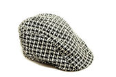 Black and white hat — Stock Photo