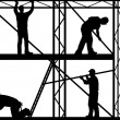Royalty-Free Stock Vector Image: Construction workers