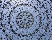 Artistic iron lattice — Stock Photo