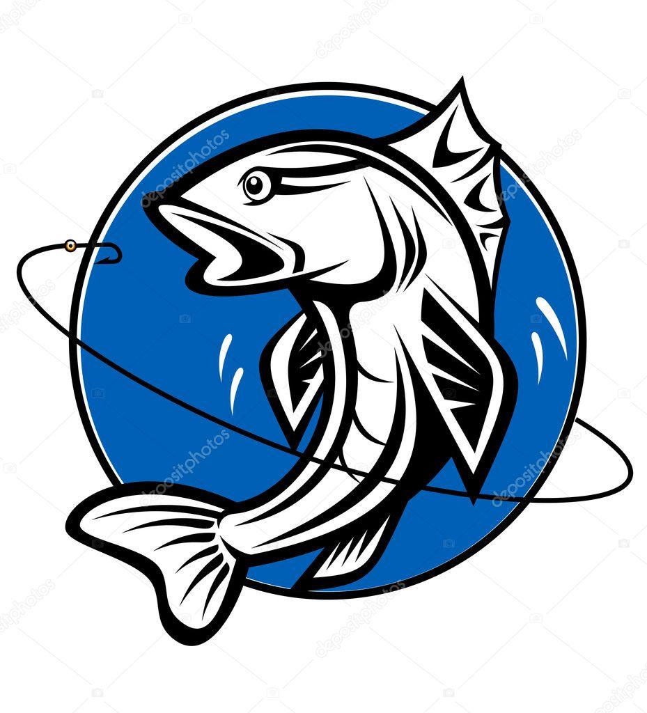 логотип для сайта о рыбалке