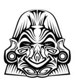 Masque antique — Vecteur