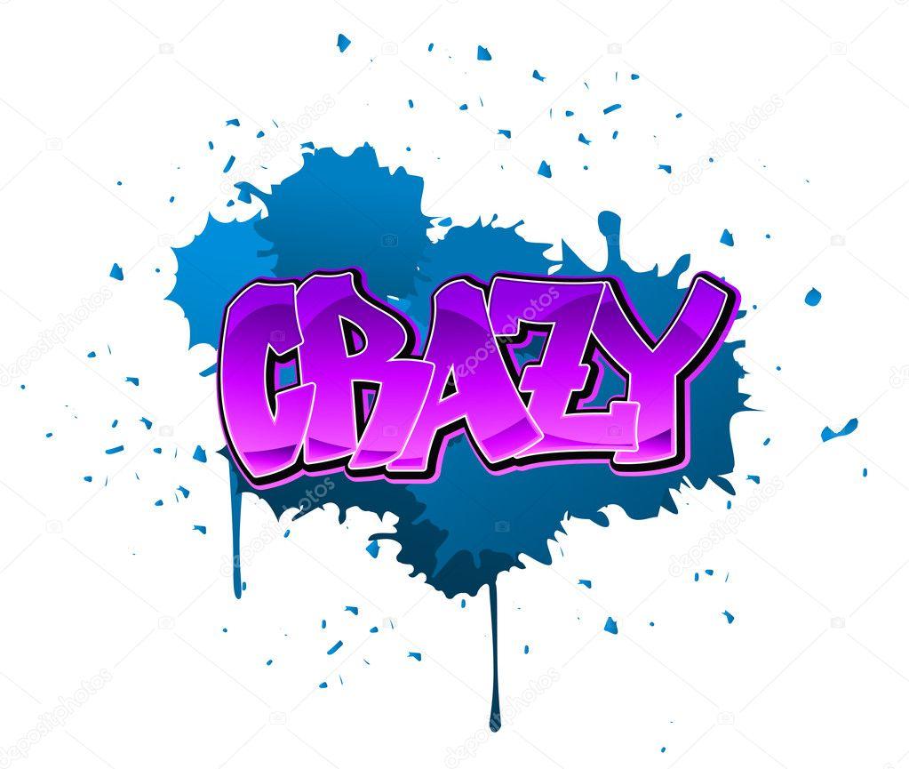 crazy graffiti vector - photo #14