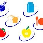 Food symbols — Stock Vector #4650633