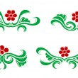 Stock Vector: Flourishes decorations