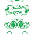 Flourishes decorations — Stock Vector
