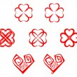 Heart symbols — Stock Vector #4650684