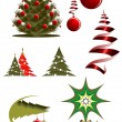 Christmas icons and symbols — Stock Vector #4650747