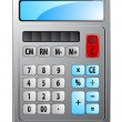 Stock Vector: Electronic calculator