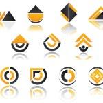 Постер, плакат: Set of symbols