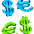 Royalty-Free Stock Vector Image: Currency symbols
