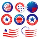 American patriotic symbols — Stock Vector #4651219