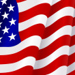 Flag of United States of America — Imagen vectorial