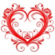 Valentine heart — Vector de stock #4651295
