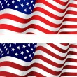 Flag of USA — Image vectorielle
