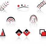 Set of symbols — Stock Vector