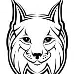 Lynx mascot — Stock Vector #4657775